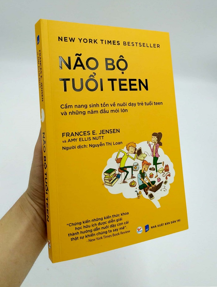 Review sách Não Bộ Tuổi Teen