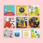 Sách Ehon dành cho bé 0-1 tuổi