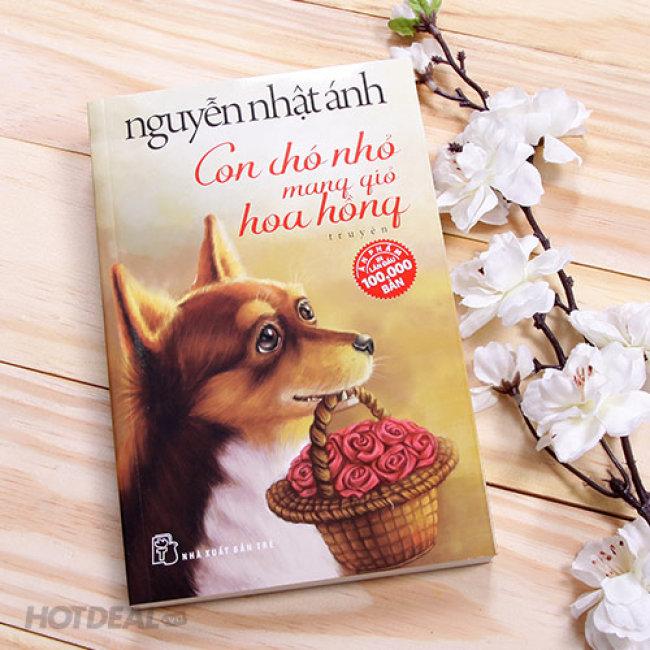 Review sách Con Chó Nhỏ Mang Giỏ Hoa Hồng