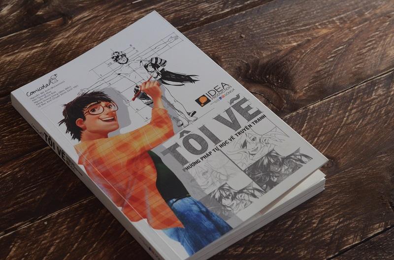 Review sách Tôi Vẽ - Phương Pháp Tự Học Vẽ Truyện Tranh