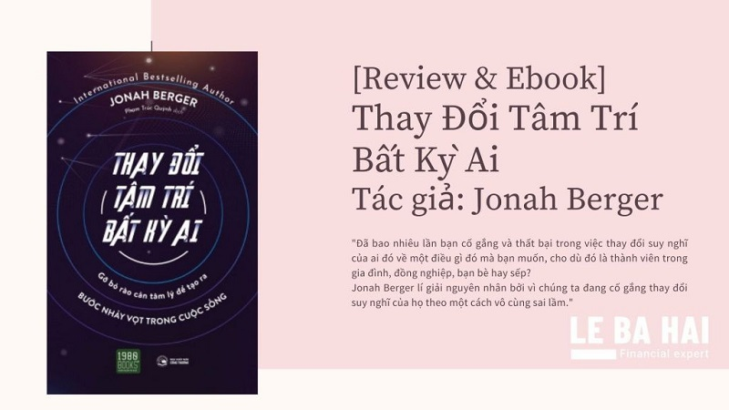 Review sách Thay Đổi Tâm Trí Bất Kỳ Ai