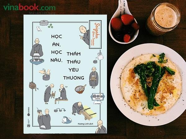 Review sách Học Ăn, Học Nấu, Thẩm Thấu Yêu Thương