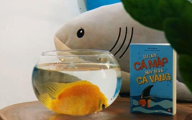 Review sách Tư Duy Cá Mập Suy Nghĩ Cá Vàng