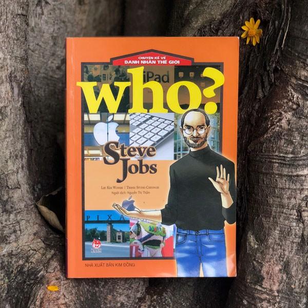 Review sách Who? Chuyện Kể Về Danh Nhân Thế Giới: Steve Jobs