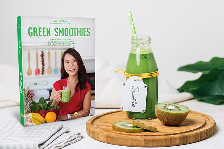 Review sách Green Smoothies - Giảm Cân, Làm Đẹp Da, Tăng Cường Sức Đề Kháng Với 7 Ngày Uống Sinh Tố Xanh