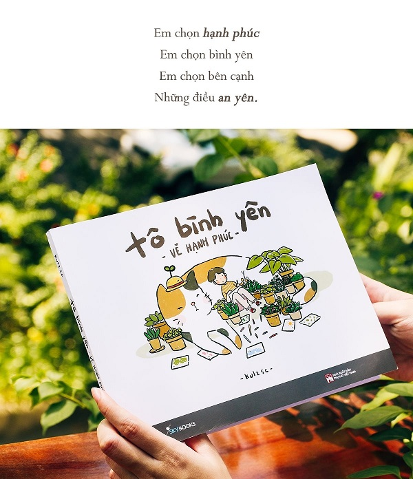 Review sách Tô Bình Yên Vẽ Hạnh Phúc