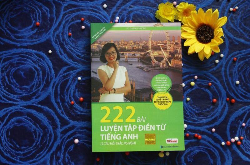 Review sách 222 Bài Luyện Tập Điền Từ Tiếng Anh